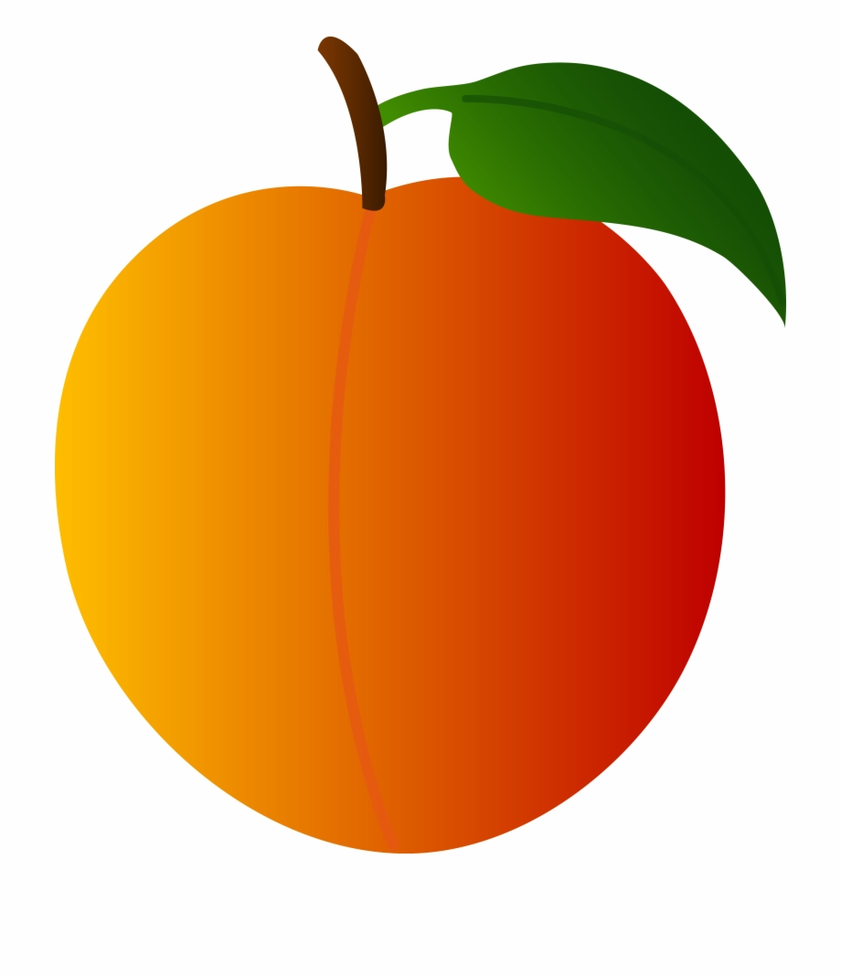 Free Clipart Of Peaches.