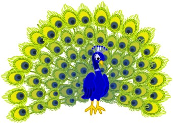 Free Peacock Clipart Pictures.