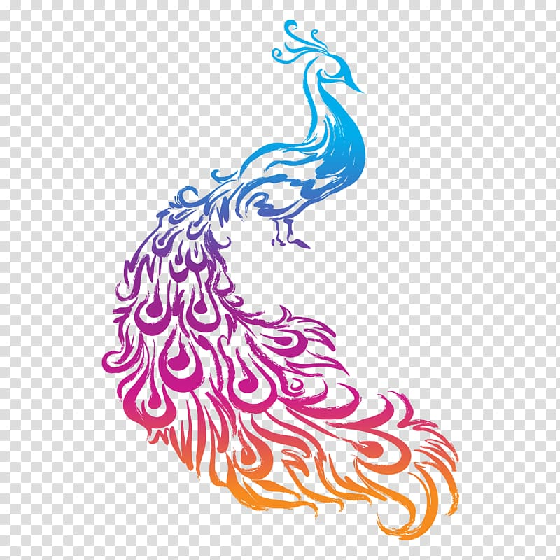 Peafowl Logo of NBC , peacock transparent background PNG.