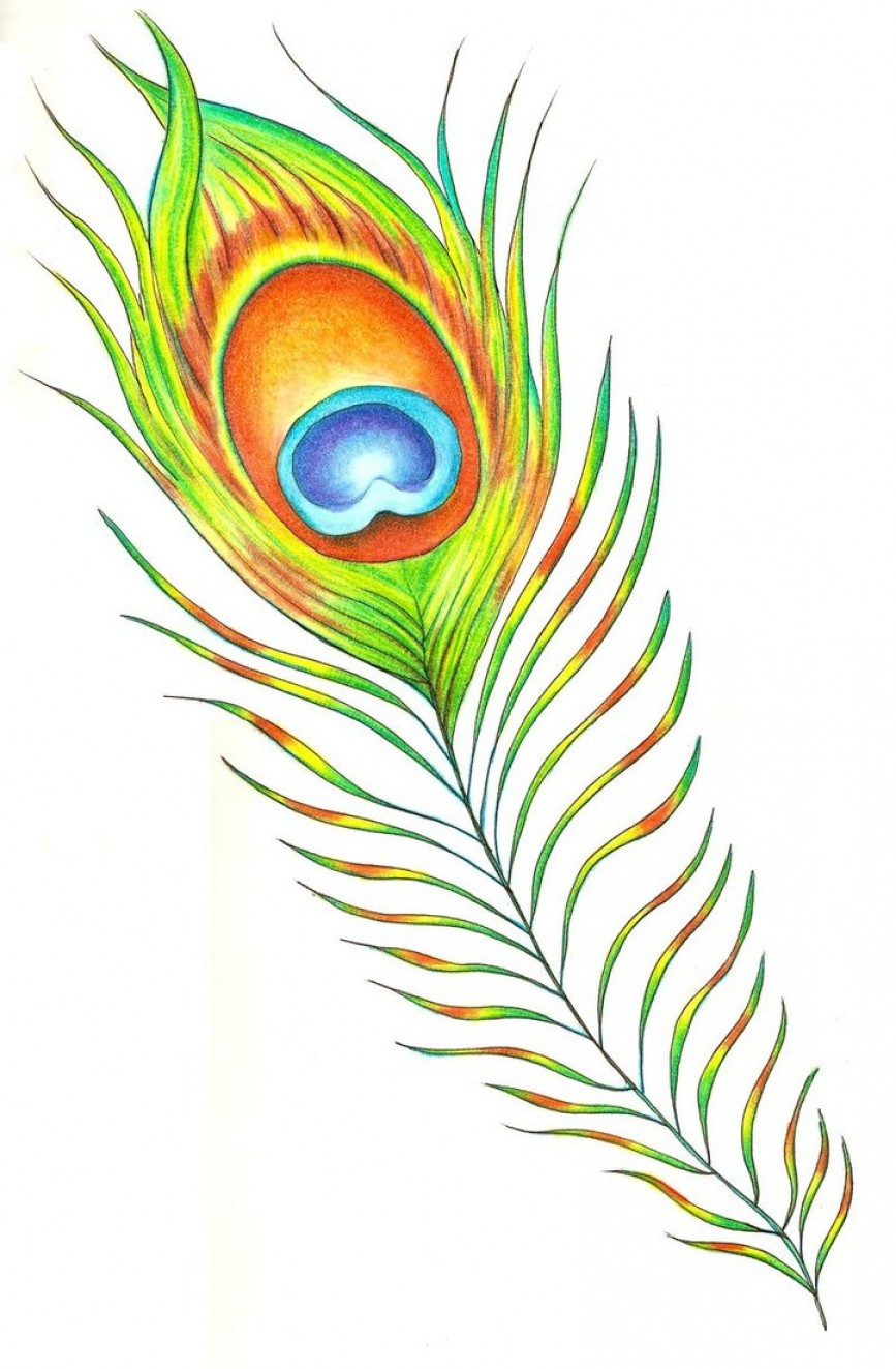Free To Use Clip Art Images Peacock Feather.