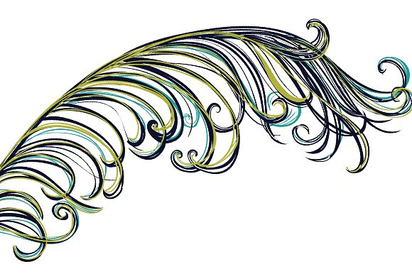 Peacock Feather Clip Art ~ Illustrations on Creative Market.