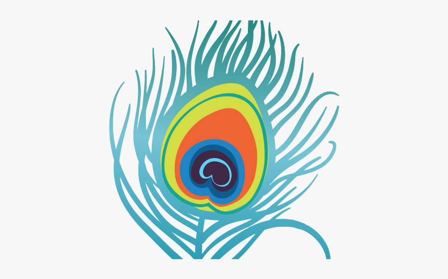 Peacock Feather Clipart Png , Free Transparent Clipart.