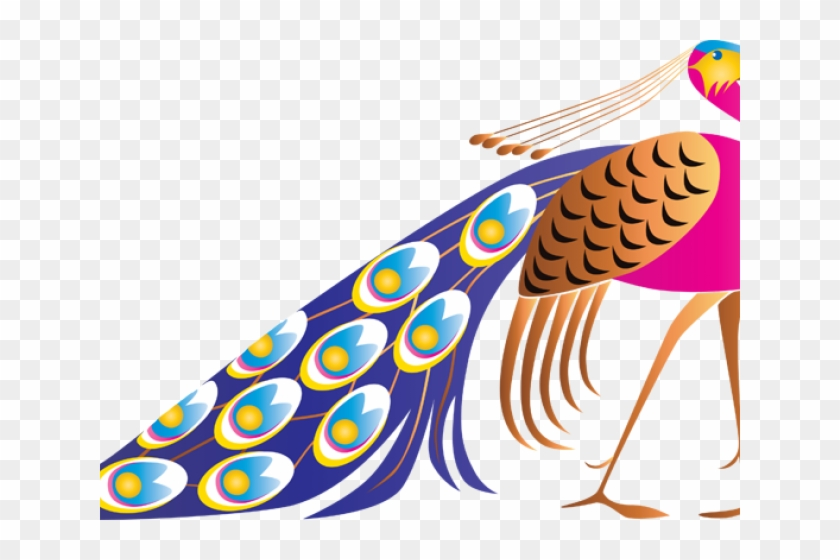 Peacock Clipart Cute.