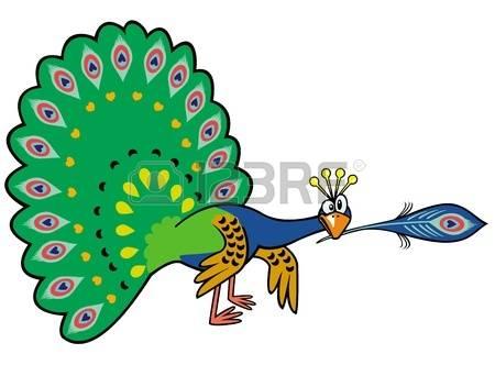 Peafowl clipart #17