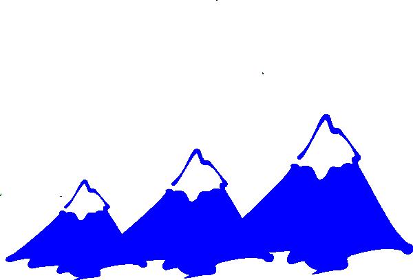 Three Mountain Peaks Clip Art at Clker.com.