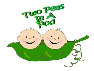 Clipart peas in a pod.