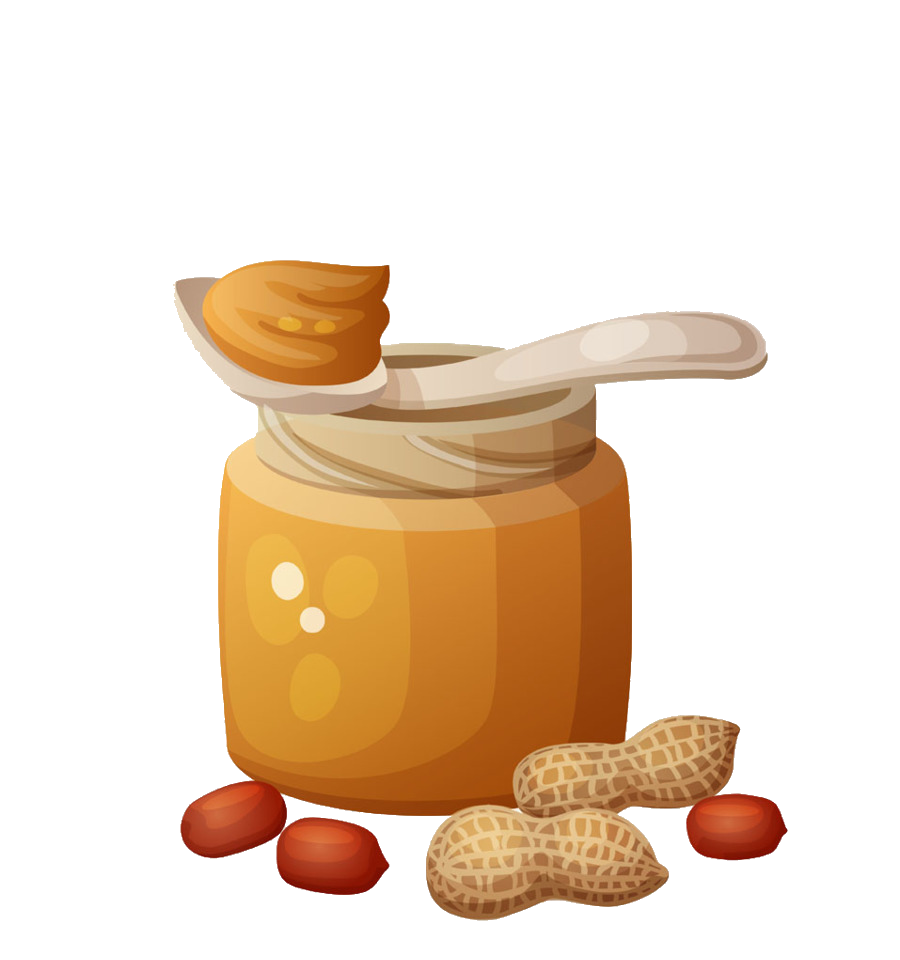 Peanut And Jelly Sandwich Clip Art Jar Of Nut Butter Picture.