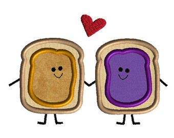 peanut butter and jelly clipart #2