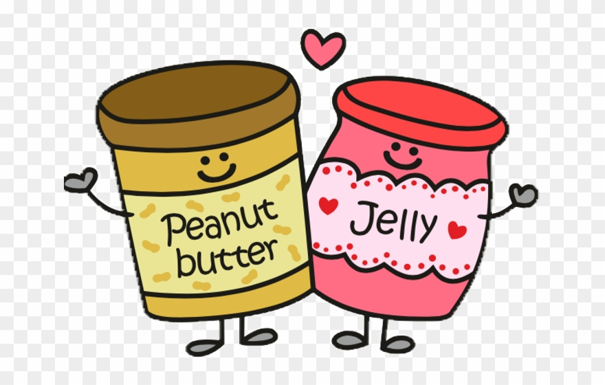 Peanut Butter Jelly Clipart.