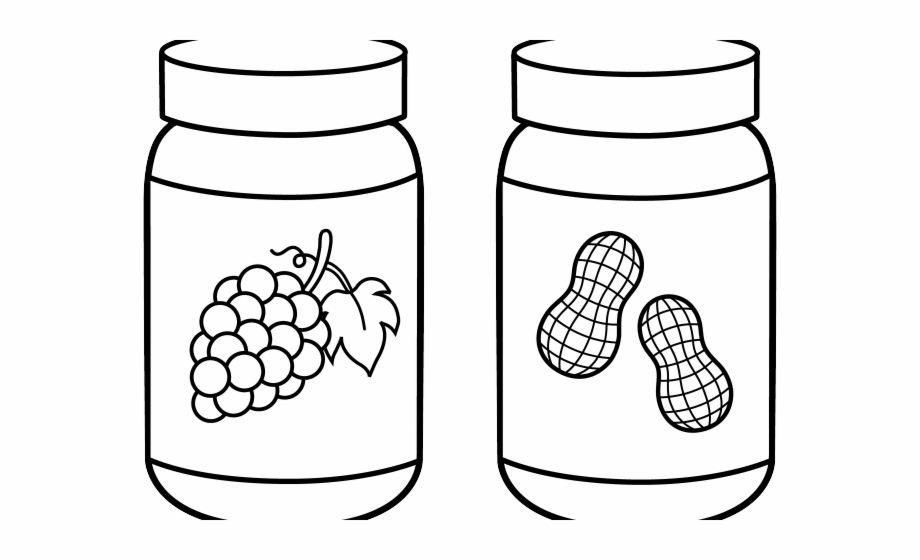 Jar Clipart Outline.