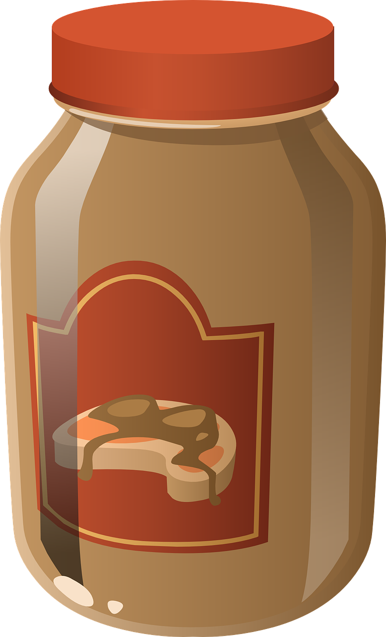 Peanut butter jar clipart clipart images gallery for free.