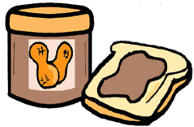 Collection of Peanut butter clipart.