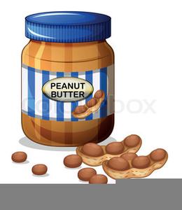 Peanut Butter Jar Clipart.