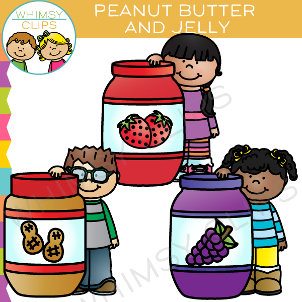 Peanut Butter and Jelly Clip Art , Images & Illustrations.
