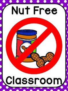 603 Nut free clipart.