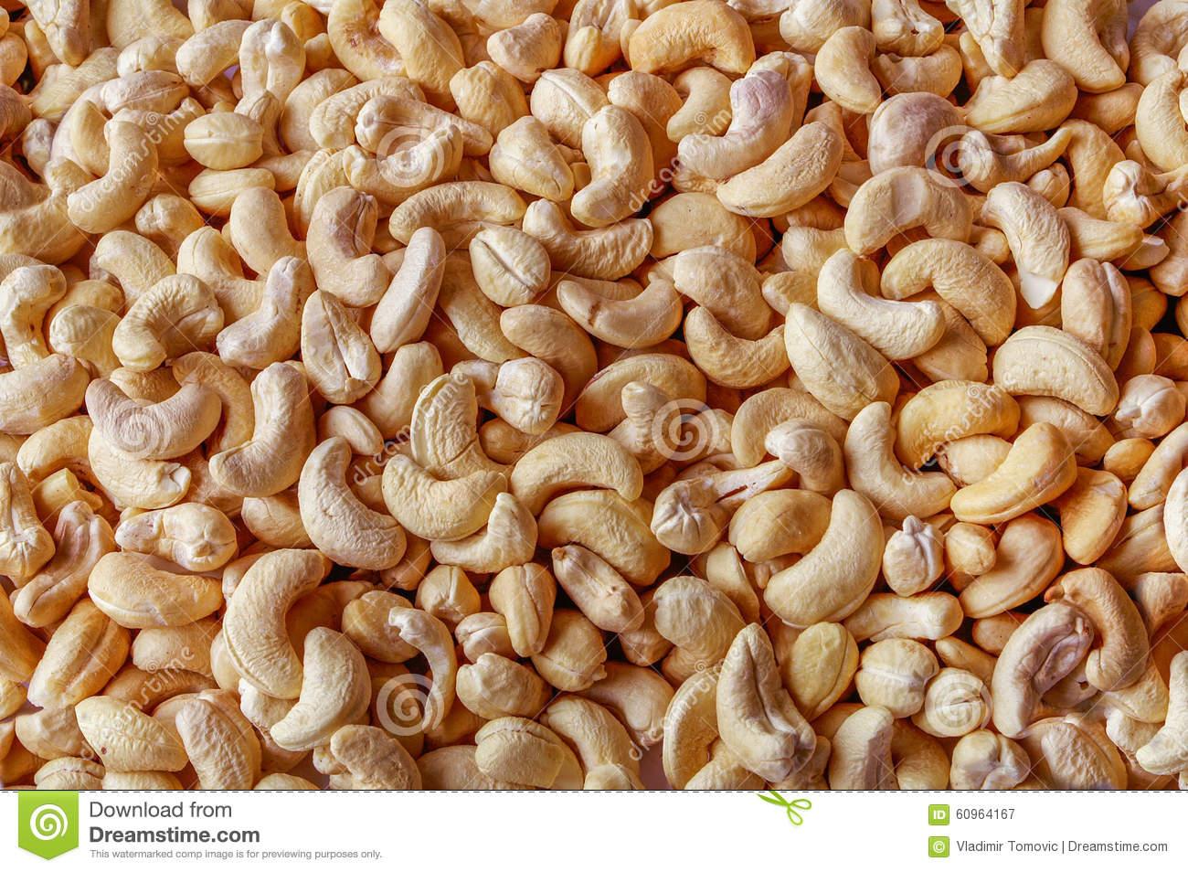Seed Yellow Salt Roasted Indian Nut.