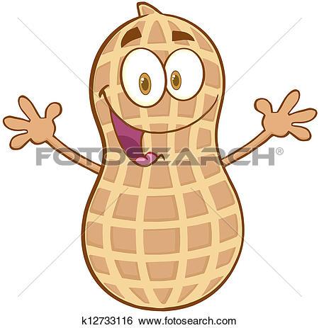Peanut Clip Art Royalty Free. 1,523 peanut clipart vector EPS.