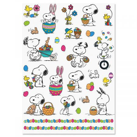 PEANUTS® Easter Stickers.