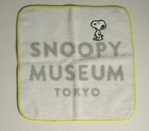 Details about Snoopy Museum Tokyo Logo design Mini Towel, PEANUTS.