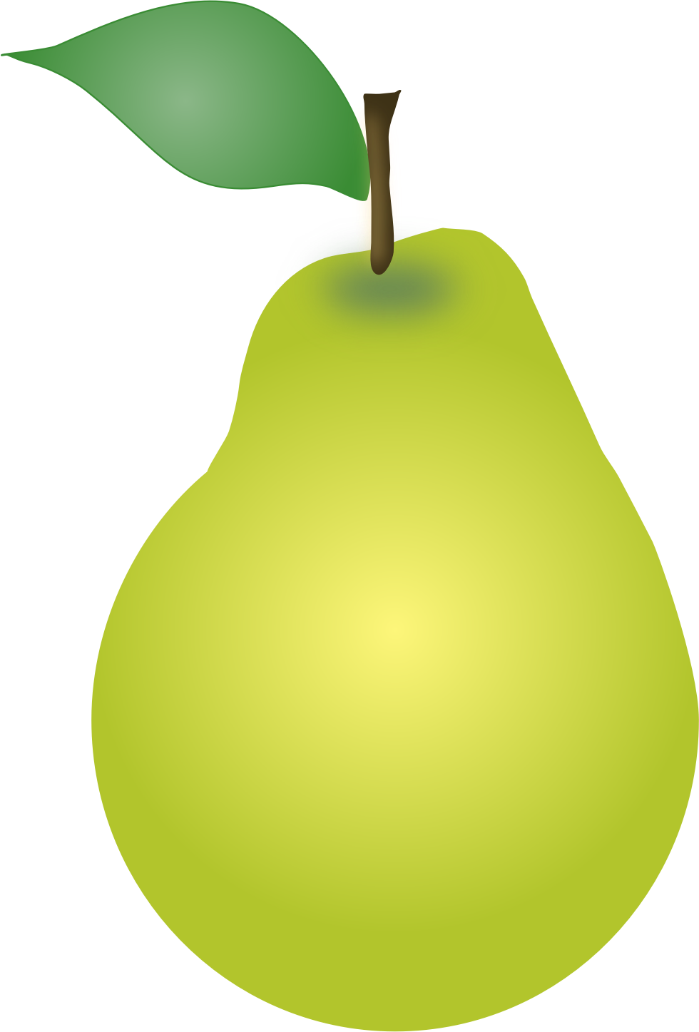 free Pear SVG, Pear clipart by ChihuahuaDesign #freeclipart.