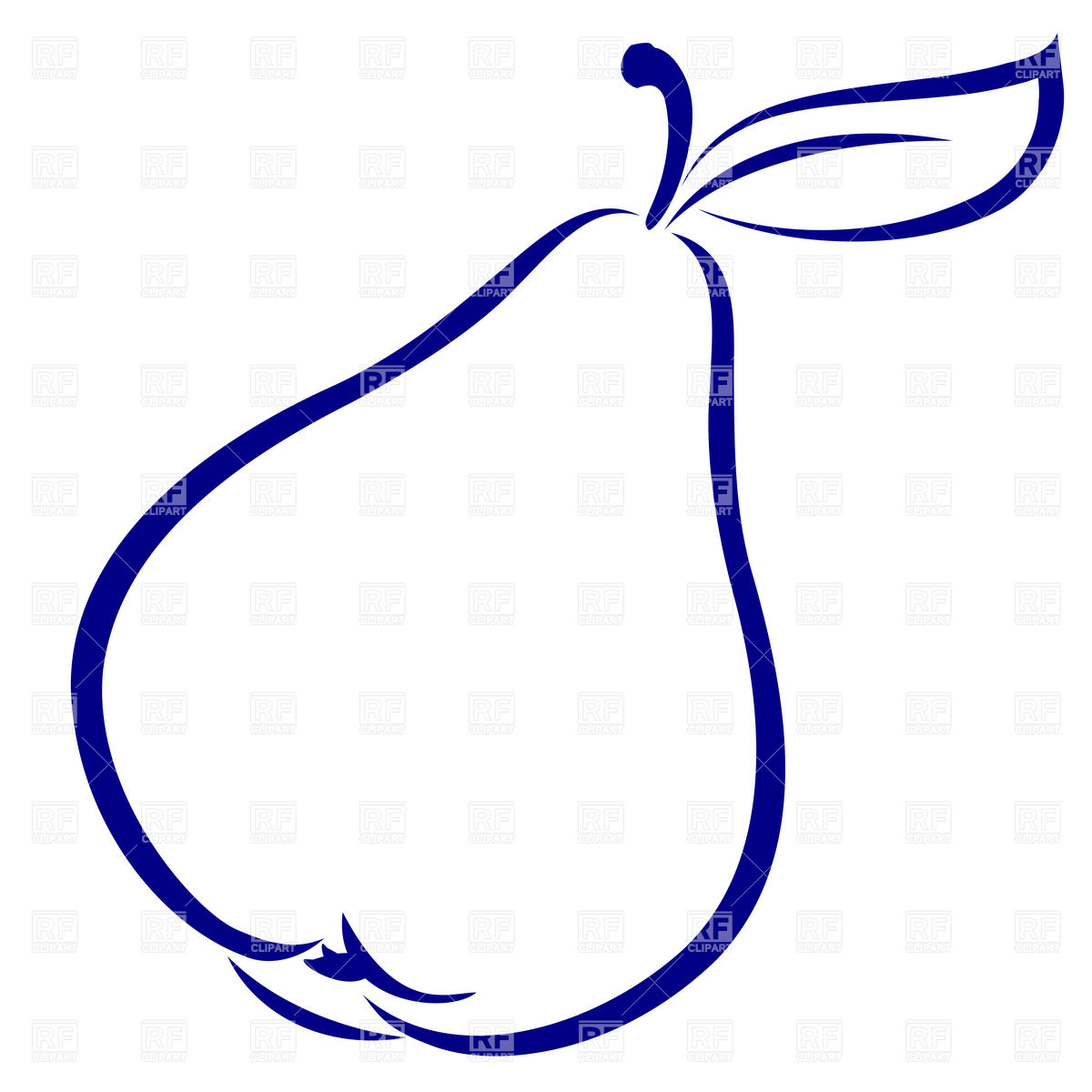 Pear Clipart.