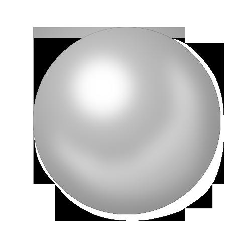 Transparent Pearl Clipart.