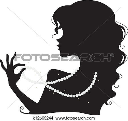 Pearl necklace Clipart Illustrations. 1,566 pearl necklace clip.