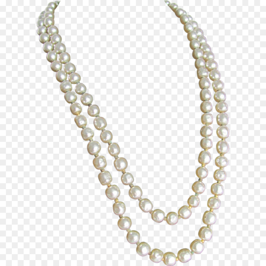 Baroque Pearl Pearl Necklace Imitation P #76674.