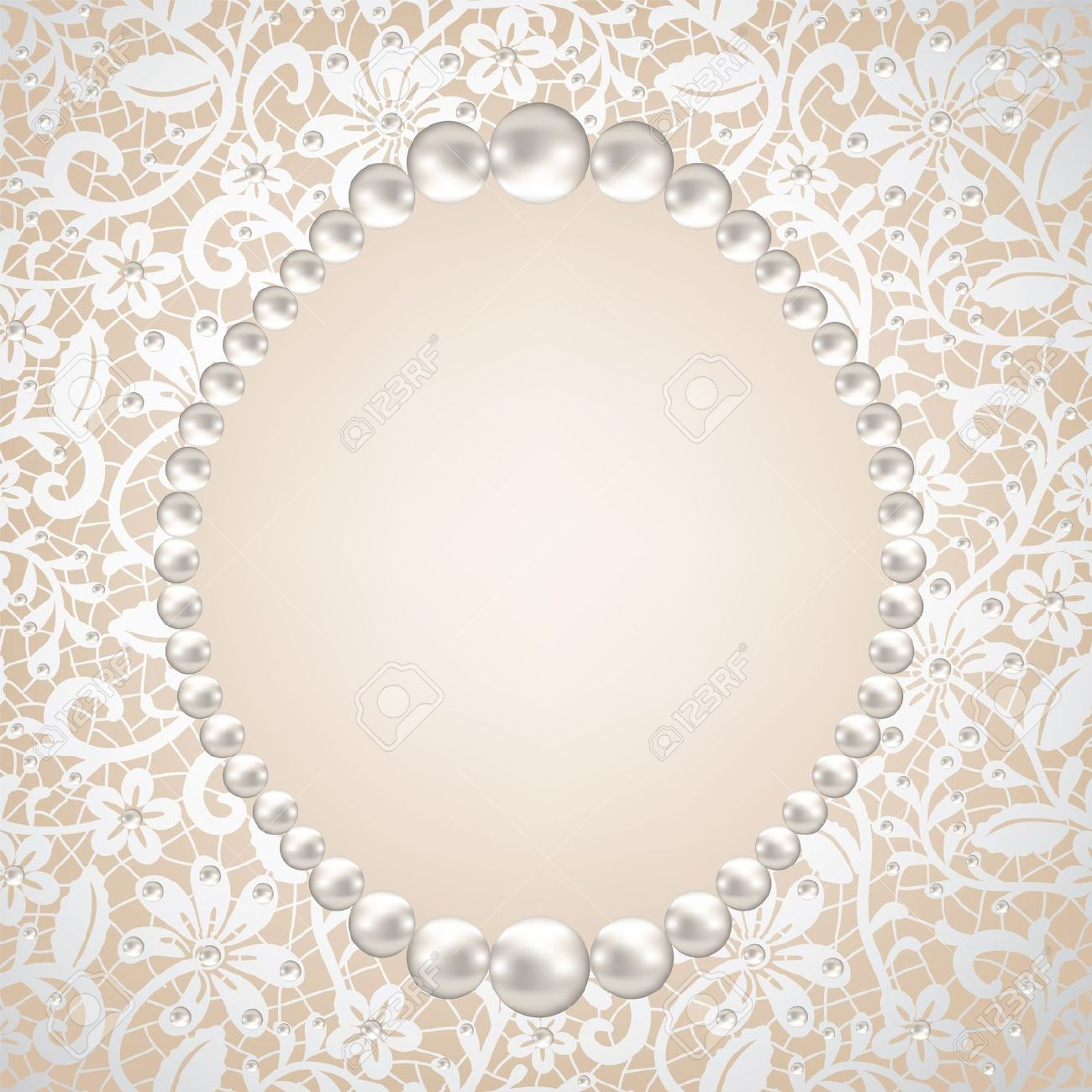 Pearls And Lace Clipart Free.