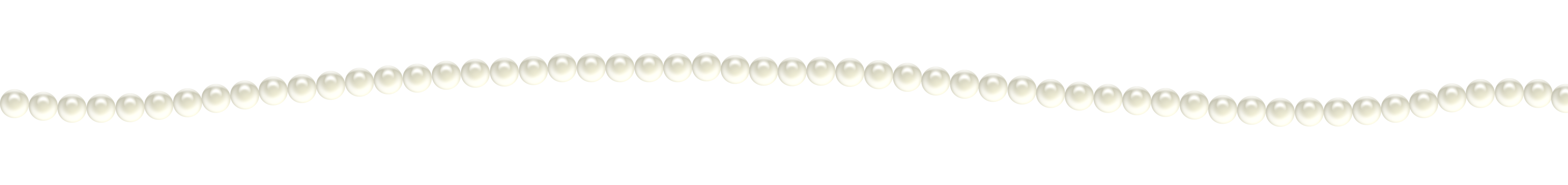 Pearl Decoration PNG Clipart Image.