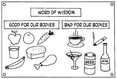 Word Of Wisdom Clipart.