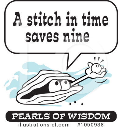 Pearls Of Wisdom Clipart #1050938.