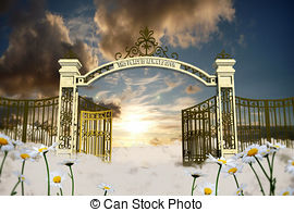 Pearly gates Stock Illustration Images. 126 Pearly gates.