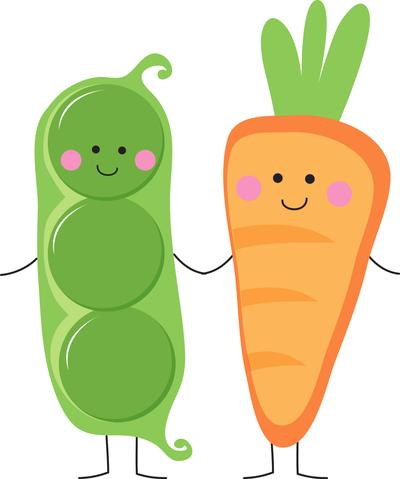 Peas to my Carrot Cookie Cutter.