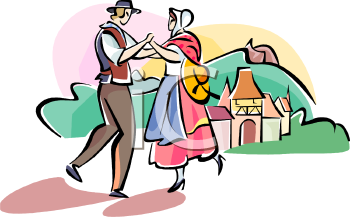 French Peasant Clipart.