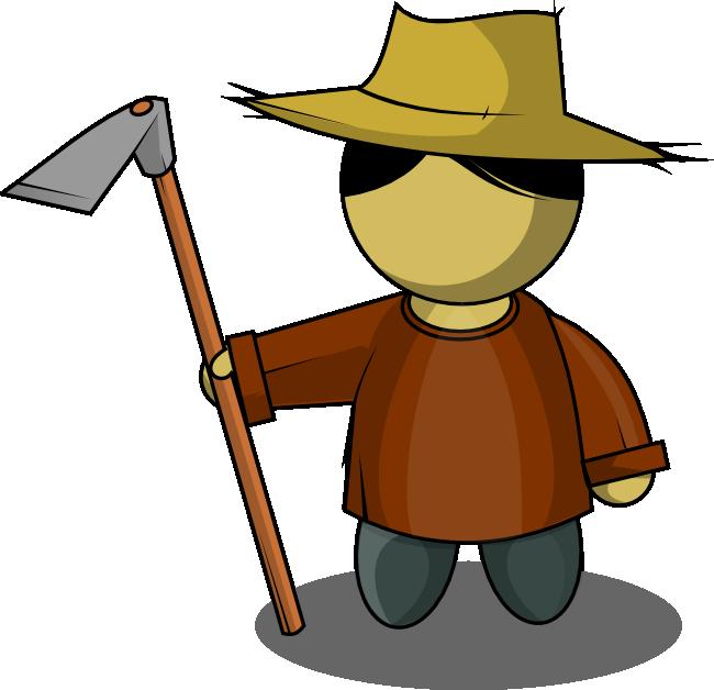 Free to Use & Public Domain Farmer Clip Art.