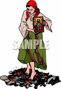 Peasant Girl Clipart Clipground