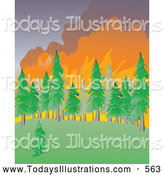 Royalty Free Peat Fire Stock New Designs.
