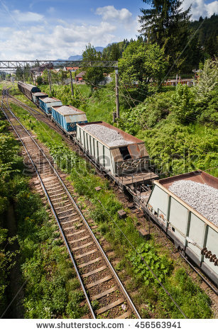 Old Steel Railway Buffers Railway Track Stock Photo 58478368.