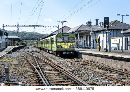 Irish Rail Stock Photos, Royalty.