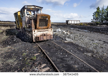 Peat Cutting Stock Photos, Royalty.