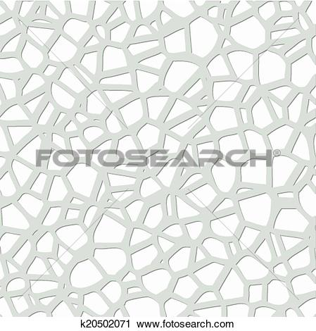 Clipart of vector abstract gray and white pebble mosaic pattern.