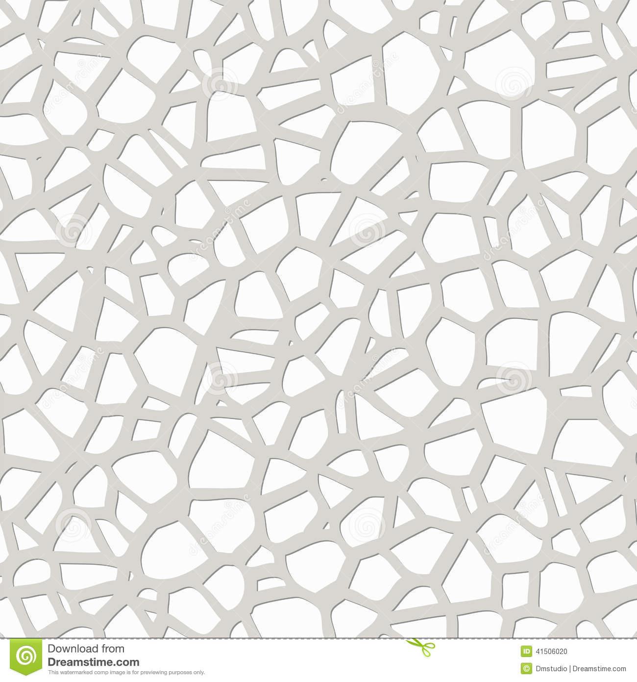 Vector Abstract Pebble Mosaic Pattern Stock Vector.