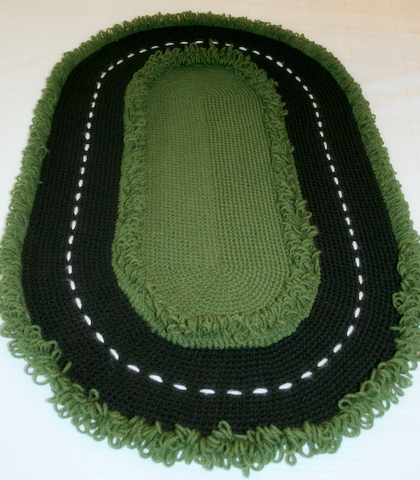 1000+ images about Crochet: Rugs on Pinterest.