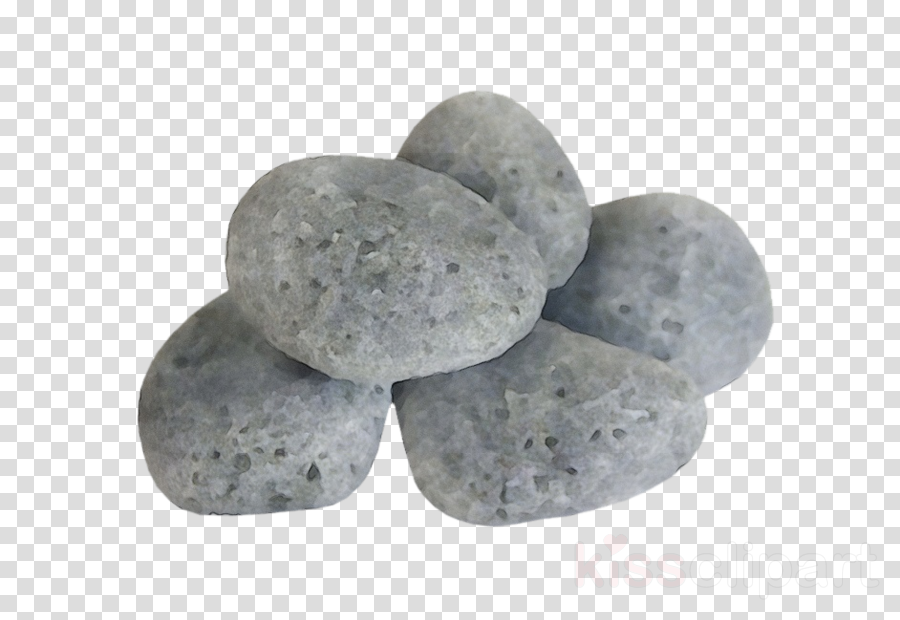 pebble white rock cobblestone potato clipart.
