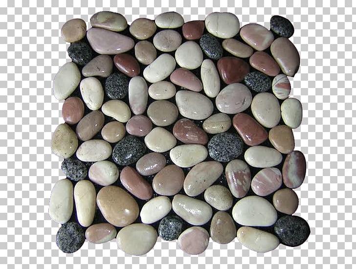 Pebble Rock Gravel Tile, Pebble PNG clipart.