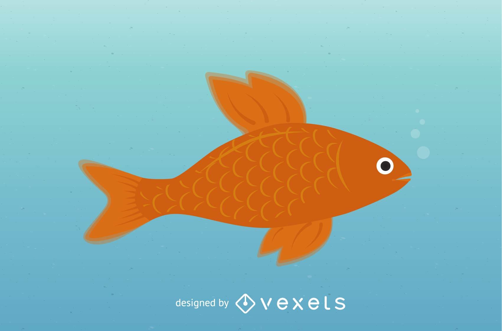 Clipart de peces de colores.