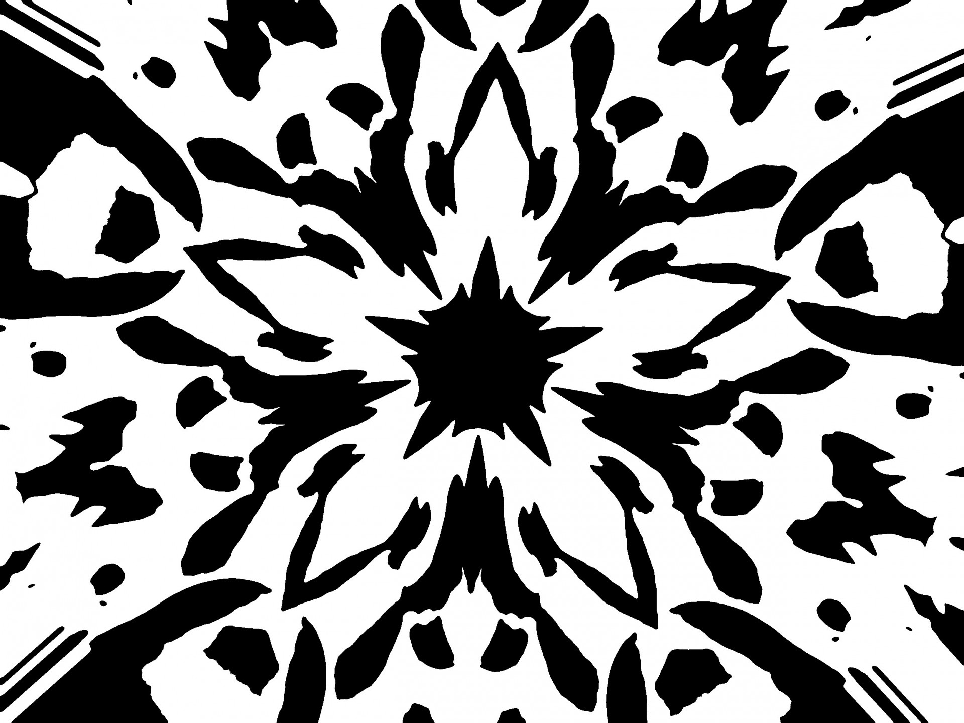 Graphic Flower.