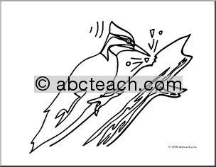 Peck Clipart.
