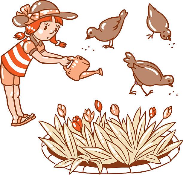 Pecks Flowers Clip Art, Vector Images & Illustrations.